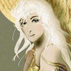 engel-wandtapete