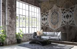 antique style orionis - kunst-tapeten wallpaper