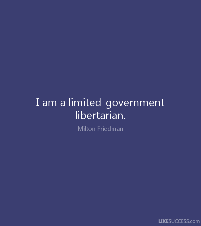 Milton Friedman Quote
