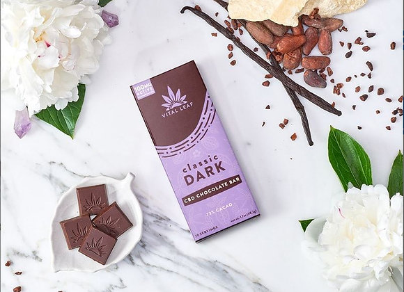 CBD Chocolate Bar | Classic Dark | 100mg