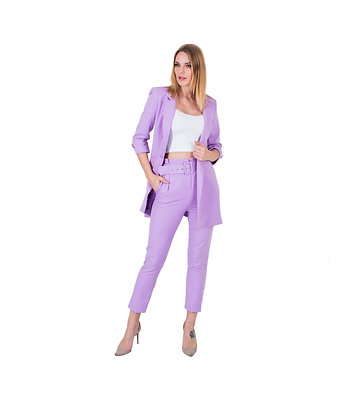 CAMILIA PERIWINKLE CLASSY PANTS