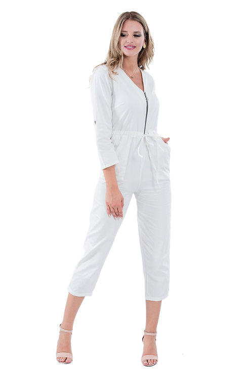 MARY WHITE JUMPSUIT
