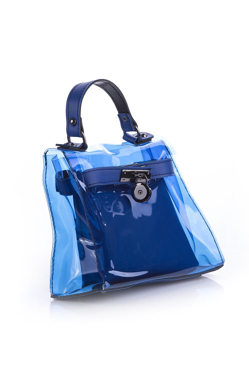CAN'T GET MY HANDS OFF OF YOU BAG - BLUE