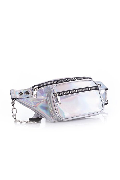 SHOW THEM WHAT YOU GOT FANNY PACK - SILVER