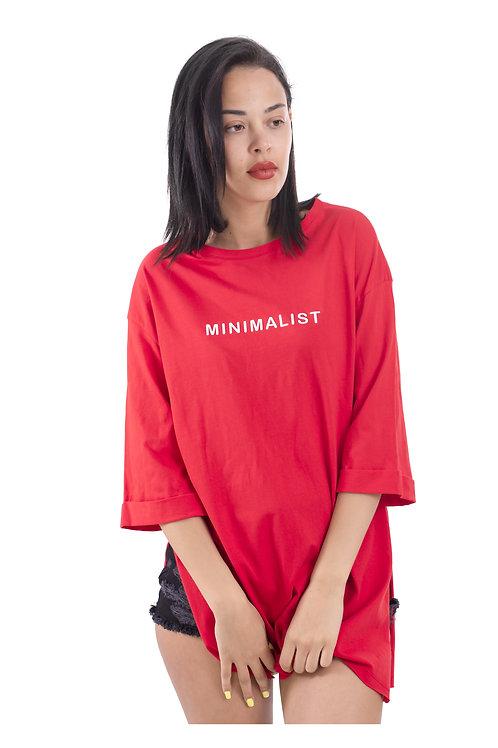 MINIMALIST OVERSIZED T-SHIRT