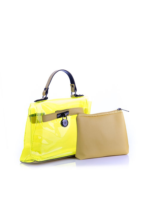 CAN'T GET MY HANDS OFF OF YOU BAG - YELLOW