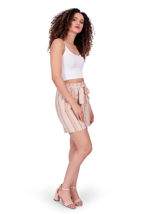 CHARLOTTE CANDY STRIPPED SHORT