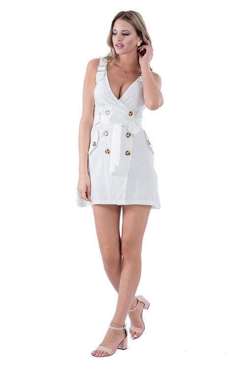 ELLA WHITE MINI DRESS