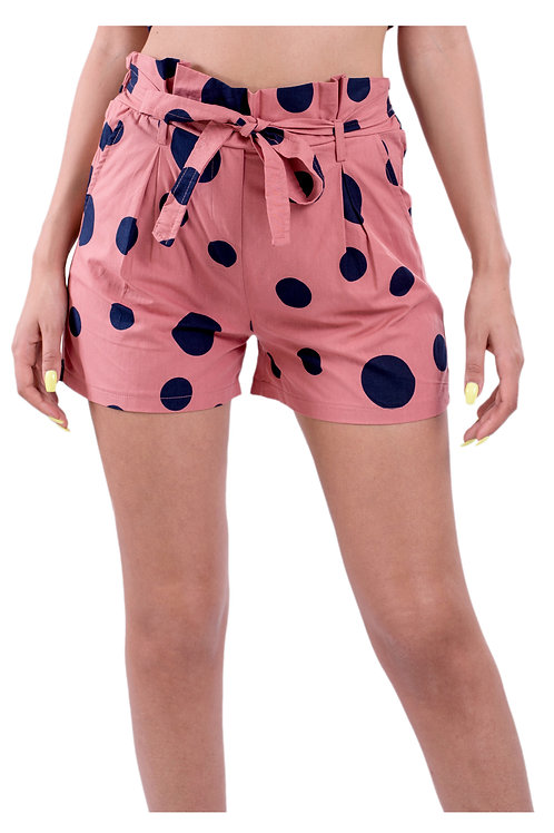 RUYA BLUSH MINI SHORTS