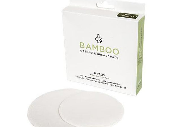 Mama Designs-Bamboo Washable Breast Pads