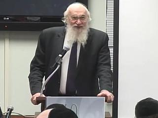 "Rabbi Yisroel Belsky, ob""m"