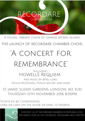 A Concert for Remembrance