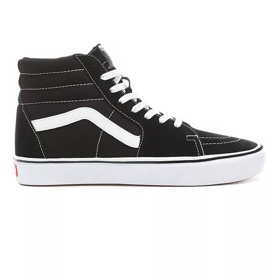 Vans Sk8-Hi Comfycush Black/True White
