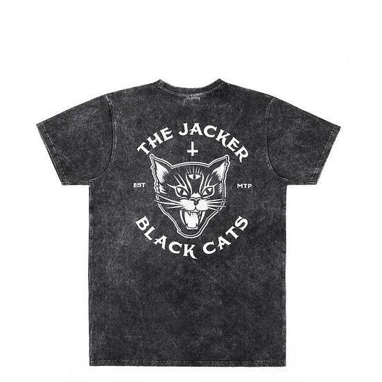 Jacker Black Cats Stonewash