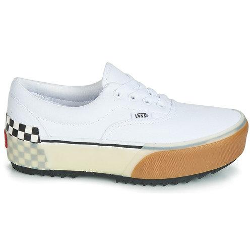 Vans Era Stacked White Checkerboard