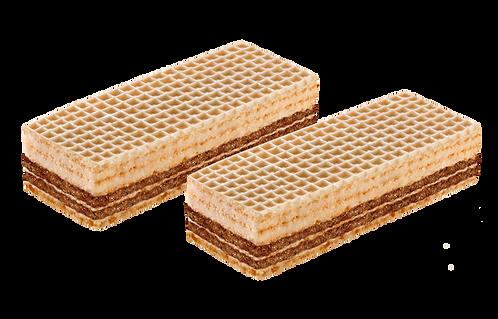 ვაფლი ნაღებით და შოკოლადით