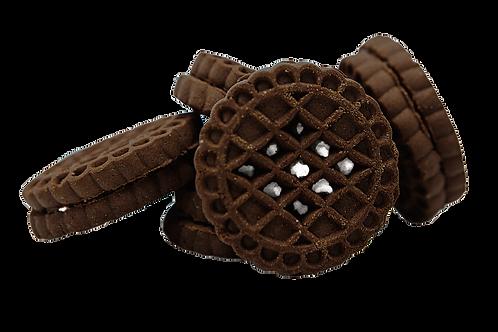 შოკოლადის სენდვიჩი ვანილის კრემით
