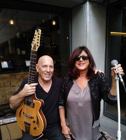 Faye Green and Mike Coppola