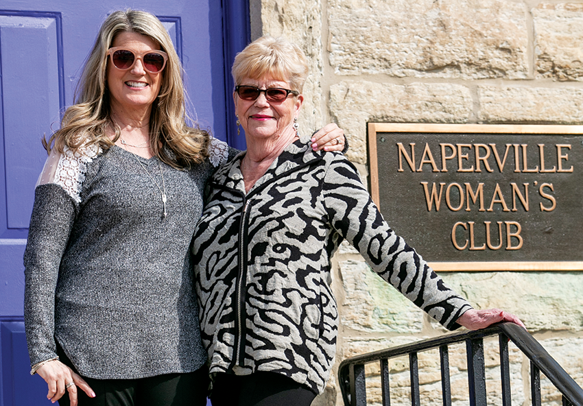 Ann Jansen and Jen Jansen DiNello of Naperville, Glancer