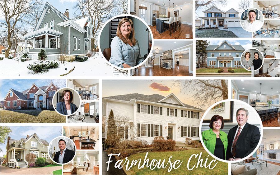 Cover Feature. Farmhouse Chic. Glancer Magazine, DuPage, March 2019