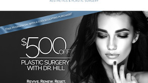 WINTER SPECIALS | Dr. David Hill Has Joined Concierge Aesthetics & Plastic Surgery, $500 Off