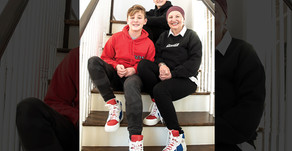 TO GIVE, TO INSPIRE | Local Teen Creates Shoe to Honor Grandmother with Pancreatic Cancer