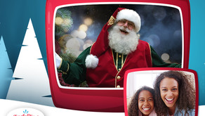 LIVE FROM THE NORTH POLE | The Kids are Invited to Enjoy a Virtual Visit with Santa