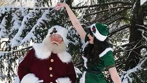 HO! HO! HO!   Santa House and Food Drive In Plainfield