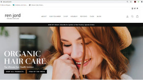 TECH TIME | Organic Hair Care E-Commerce Site, Ren-Jord.com Launched by St. Charles Mom