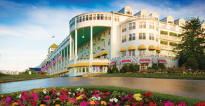 TRENDY TRAVELER | Grand Hotel on Michigan's Mackinac Island