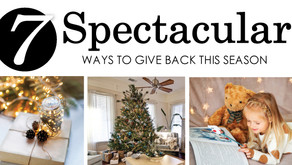 7 SPECTACULAR | Ways to Give Back this Season