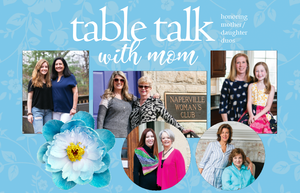 May 2019, Glancer Magazine, Table Talk with Mom