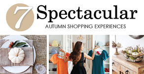 7 SPECTACULAR | Autumn Shopping Experiences