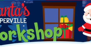 NEW SANTA EVENT | Park District Introduces Santa's Naperville Workshop for 2020 Holiday Season