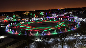 BROOKFIELD ZOO | Over One Million Twinkling LED Lights