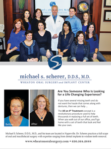 Wheaton Oral Surgery, All on 4 Treatments, Glancer Magazine