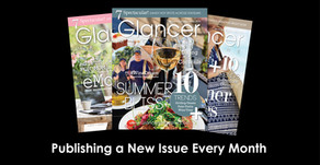 GLANCER MAGAZINE   New Digital-Only Format to Continue Captivating Vast West Suburban Audience