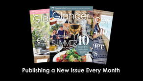 GLANCER MAGAZINE | New Digital-Only Format to Continue Captivating Vast West Suburban Audience