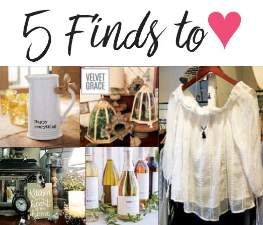 5 Finds to Love, Glancer Magazine, March 18