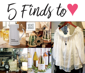 5 Finds to Love, Glancer Magazine, March 18