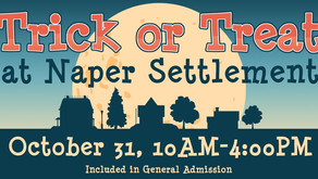 HALLOWEEN | Trick or Treat at Naper Settlement On October 31st