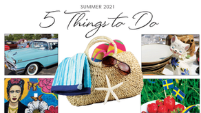 5 THINGS TO DO   Excitement Planned for Summer In the Suburbs  – Enjoy All Month Long!