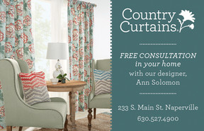 Country Curtains 233 South Main Street, Naperville (630) 527 4900 U2022 Www. Countrycurtains.com