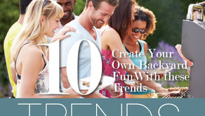 10 TRENDS | Create Your Own Backyard Fun with these Trends