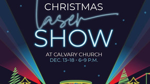 HOLIDAY LIGHT SHOW | Happening this Week at Calvary Church In Naperville