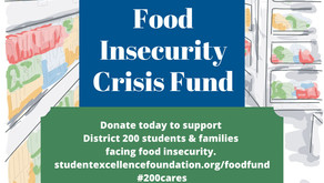 GIVING BACK   Food Insecurity Crisis Fund Created to Help District 200 Families—Please Donate