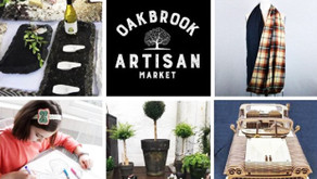 OAK BROOK ARTISAN MARKET | October 17-18 at The Drake Hotel • Free Admission