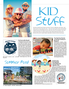 Kid Stuff, Glancer Magazine, DuPage, June 2018