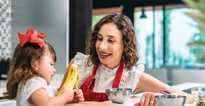 FAMILY DINING | Now's the Time to Teach At-Home Nutrition