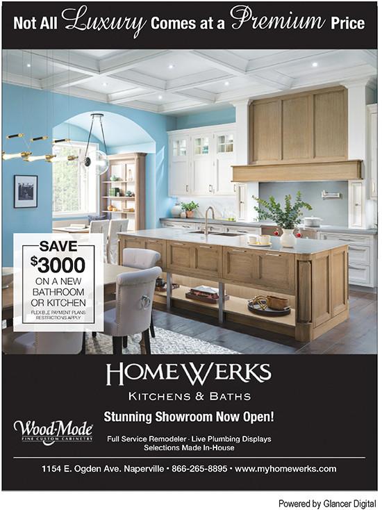 HomeWerks, Naperville, Glancer Magazine